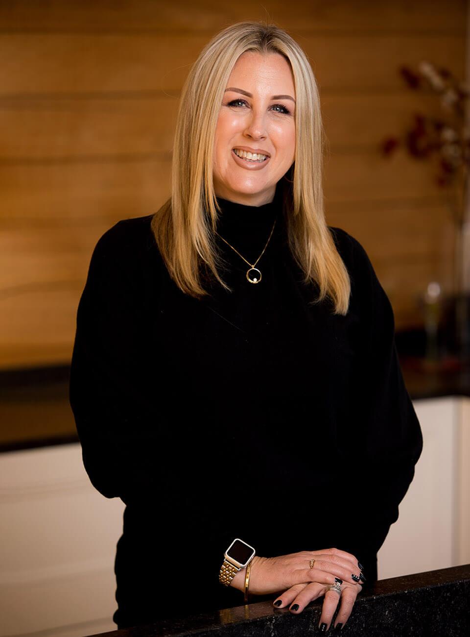 Taryn Ordonio at Classic Kitchens & Designs in Monterey, CA
